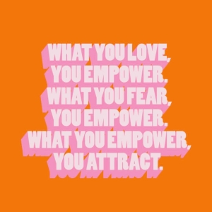 What do you want to attract? Think about it hellip
